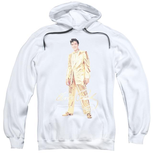 Elvis Presley Hoodie | GOLD LAME SUIT Pull-Over Sweatshirt
