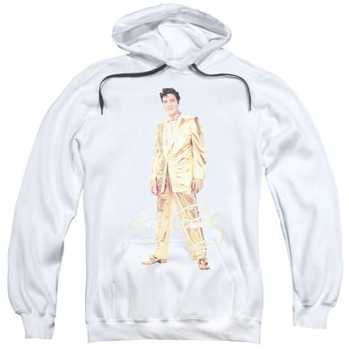 Elvis Presley Hoodie | GOLD LAME SUIT Pull-Over Sweatshirt