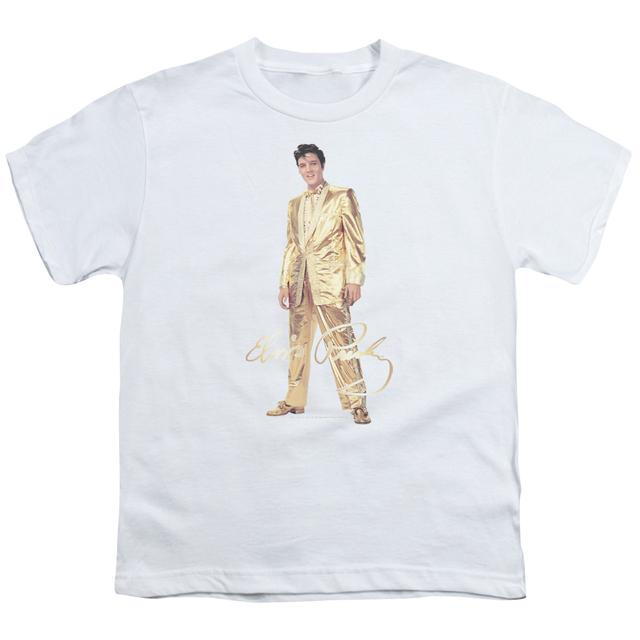 Elvis Presley Youth Tee | GOLD LAME SUIT Youth T Shirt