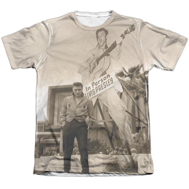 Elvis Presley Shirt | LARGER THAN LIFE Tee