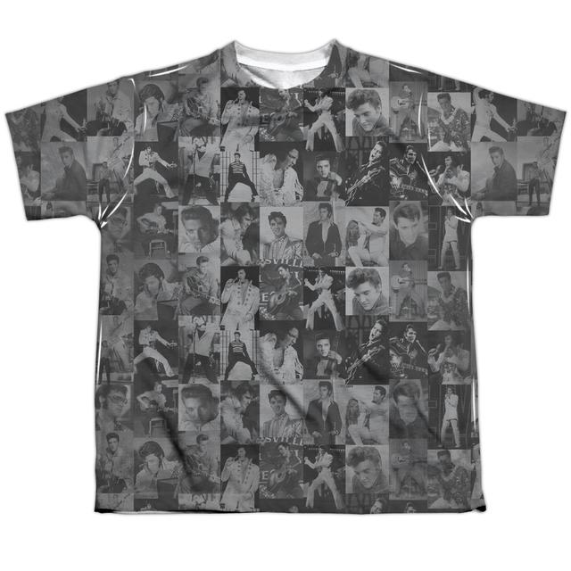Elvis Presley Youth Shirt | TCB CROWD Sublimated Tee