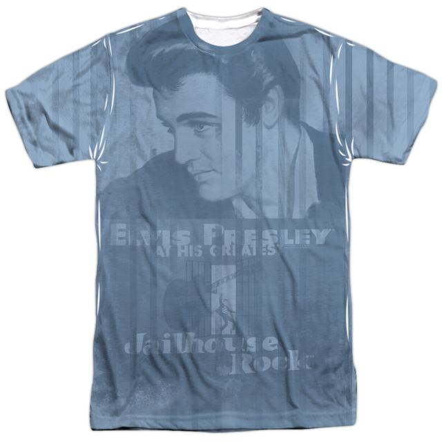 Elvis Presley Shirt | JAILHOUSE POSTER ALL OVER Tee