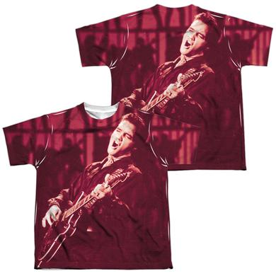 Elvis Presley Youth Shirt | SCRATCHED 68 Sublimated Tee