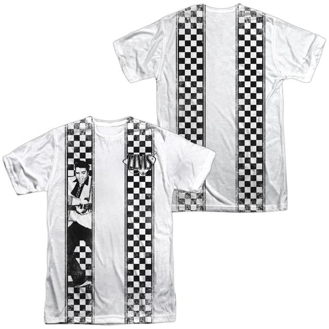 Elvis Presley Shirt | CHECKERED BOWLING SHIRT Tee