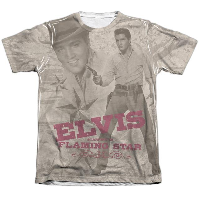 Elvis Presley Shirt | FLAMING STAR Tee
