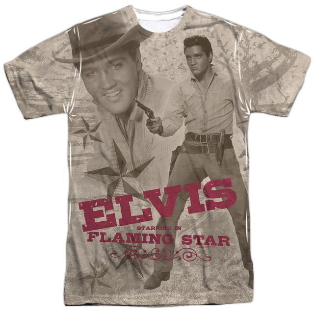 Elvis Presley Shirt | FLAMING STAR Tee