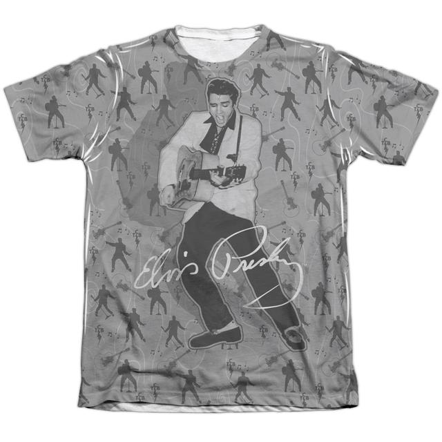 Elvis Presley Shirt | ROCKIN ALL OVER (FRONT/BACK PRINT) Tee