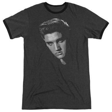 Elvis Presley Shirt | AMERICAN IDOL Premium Ringer Tee