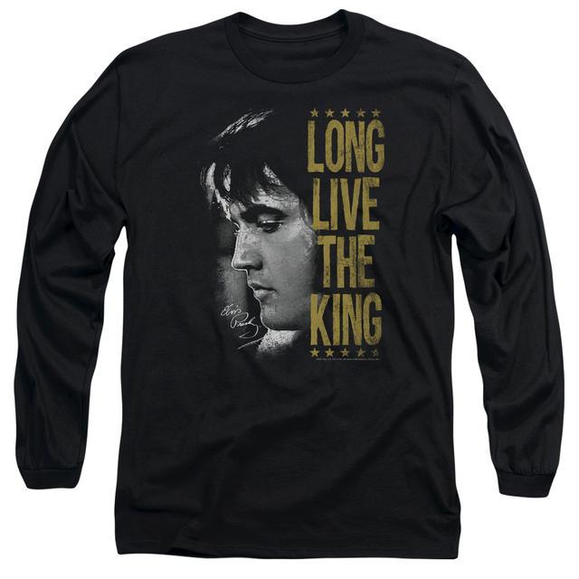 Elvis Presley T Shirt   LONG LIVE THE KING Premium Tee