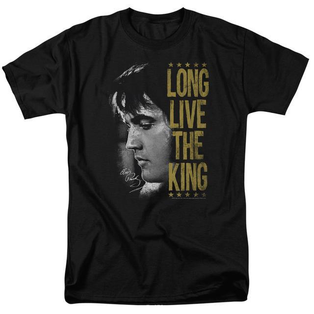 Elvis Presley Shirt | LONG LIVE THE KING T Shirt