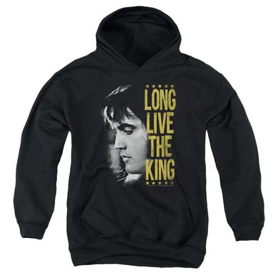 Elvis Presley Youth Hoodie | LONG LIVE THE KING Pull-Over Sweatshirt