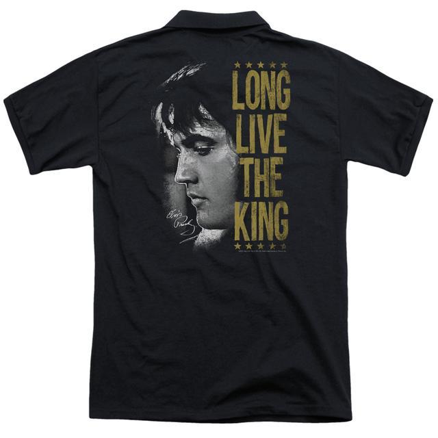 Elvis Presley LONG LIVE THE KING (BACK PRINT)