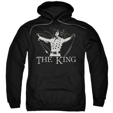 Elvis Presley Hoodie | ORNATE KING Pull-Over Sweatshirt