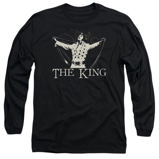 Elvis Presley T Shirt | ORNATE KING Premium Tee