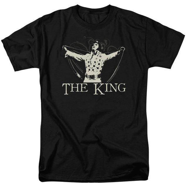 Elvis Presley Shirt | ORNATE KING T Shirt