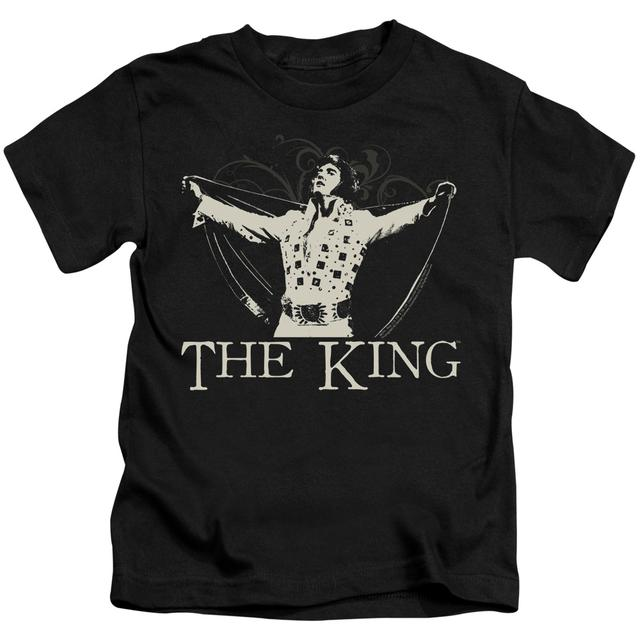 Elvis Presley Kids T Shirt | ORNATE KING Kids Tee