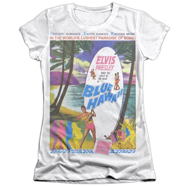 Elvis Presley Junior's Shirt | BLUE HAWAII Junior's Tee