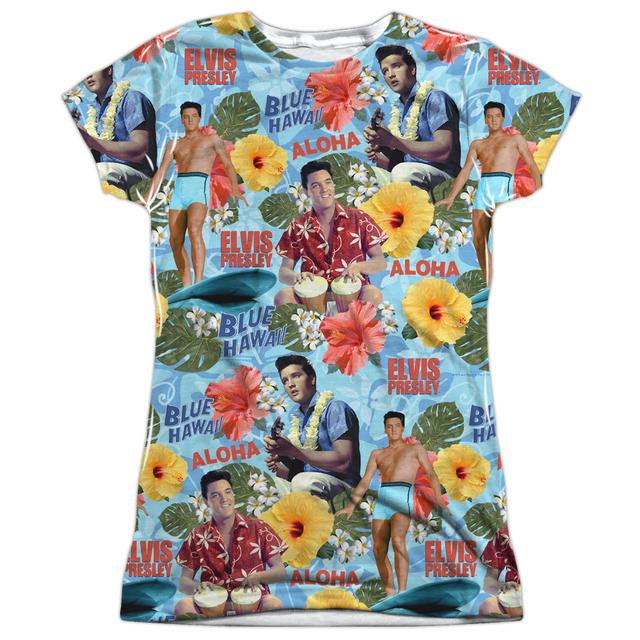 Elvis Presley Junior's T Shirt | SURF'S UP Sublimated Tee