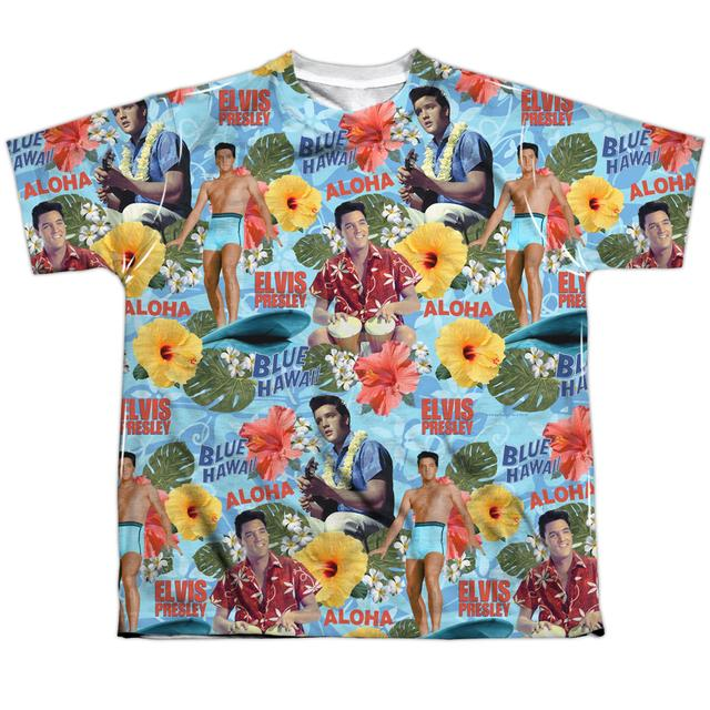 Elvis Presley Youth Shirt | SURF'S UP Sublimated Tee
