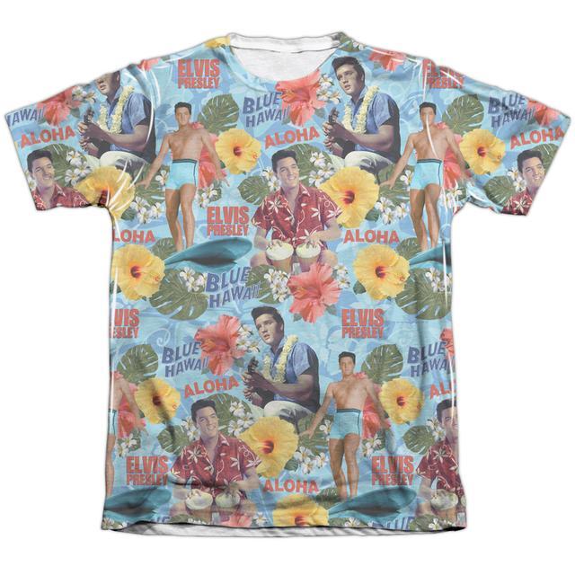 Elvis Presley Shirt | SURF'S UP (FRONT/BACK PRINT) Tee