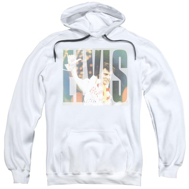 Elvis Presley Hoodie | ALOHA KNOCKOUT Pull-Over Sweatshirt