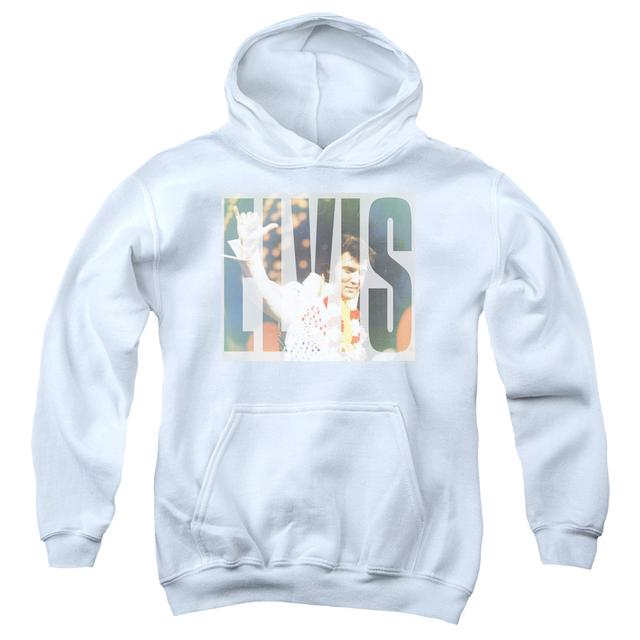 Elvis Presley Youth Hoodie | ALOHA KNOCKOUT Pull-Over Sweatshirt
