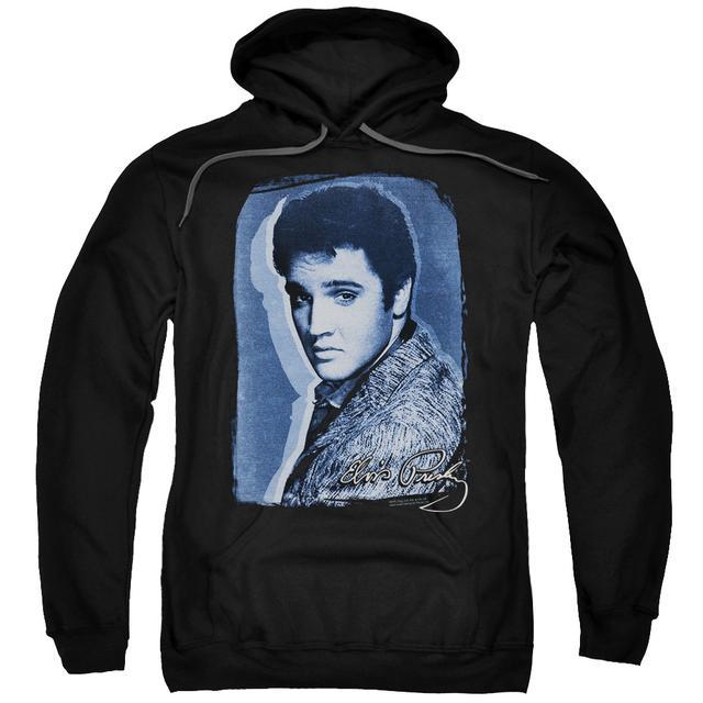 Elvis Presley Hoodie | OVERLAY Pull-Over Sweatshirt