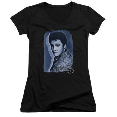 Elvis Presley Junior's V-Neck Shirt   OVERLAY Junior's Tee