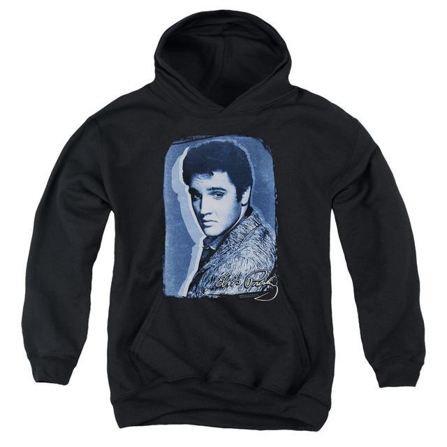 Elvis Presley Youth Hoodie | OVERLAY Pull-Over Sweatshirt