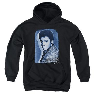 Elvis Presley Youth Hoodie | OVERLAY Pull-Over Sweatshirt