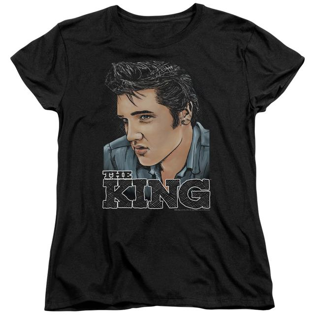 Elvis Presley Women's Shirt | GRAPHIC KING Ladies Tee