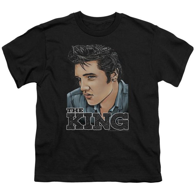 Elvis Presley Youth Tee | GRAPHIC KING Youth T Shirt