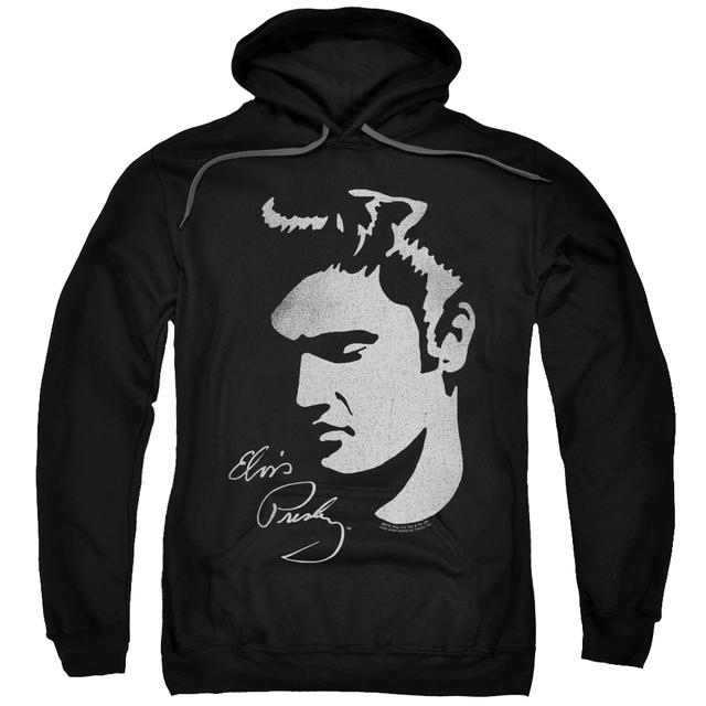 Elvis Presley Hoodie | SIMPLE FACE Pull-Over Sweatshirt