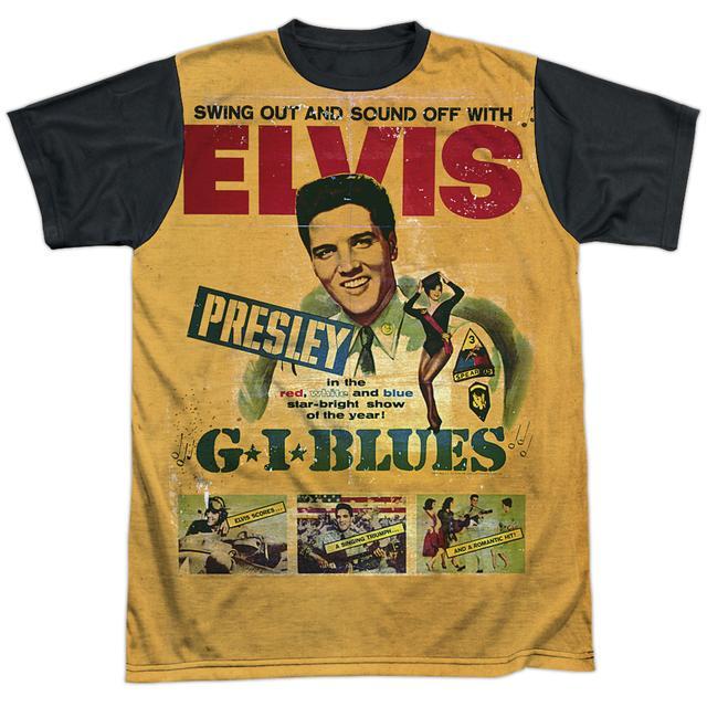 Elvis Presley Tee | GI BLUES Shirt