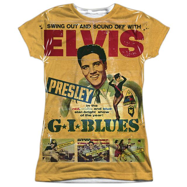Elvis Presley Junior's T Shirt | GI BLUES Sublimated Tee