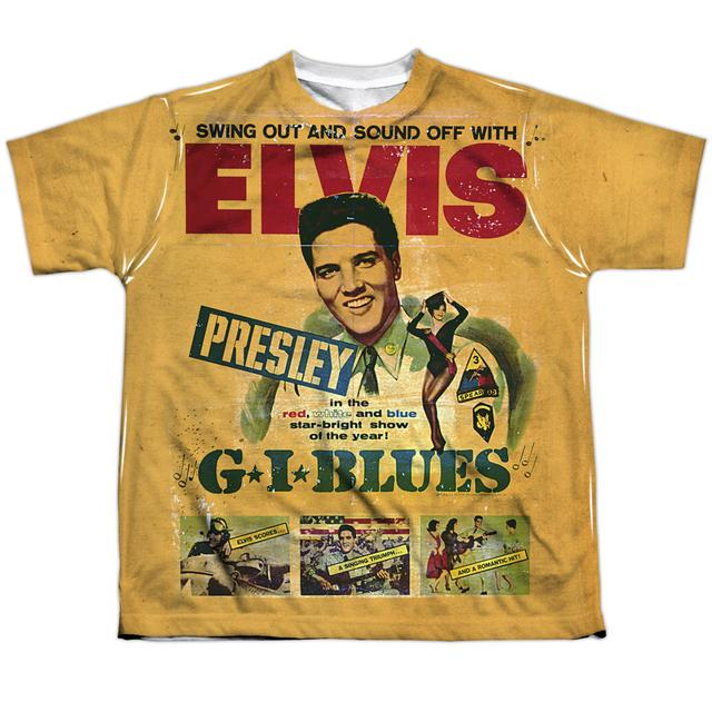 Elvis Presley Youth Shirt | GI BLUES Sublimated Tee