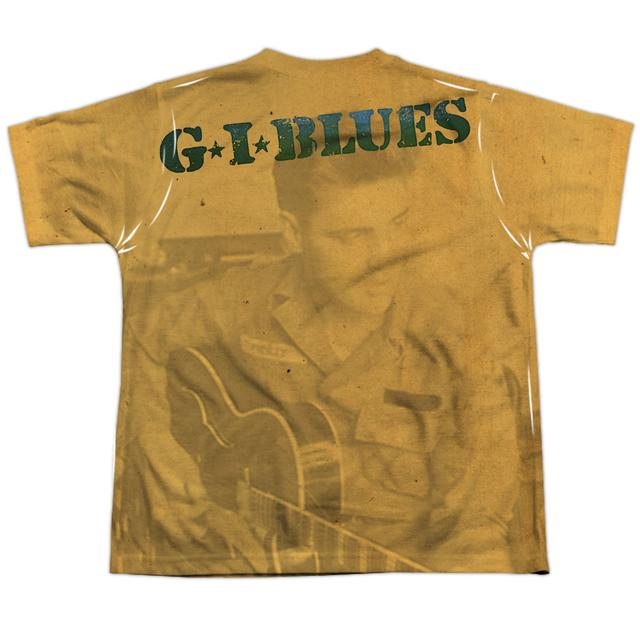 Elvis Presley Youth Shirt | GI BLUES (FRONT/BACK PRINT) Sublimated Tee
