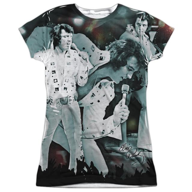Elvis Presley Junior's T Shirt | NOW PLAYING Sublimated Tee