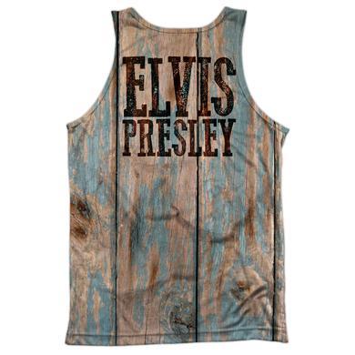 Elvis Presley WOODGRAIN (FRONT/BACK PRINT)