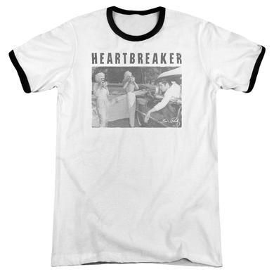 Elvis Presley Shirt | HEARTBREAKER Premium Ringer Tee