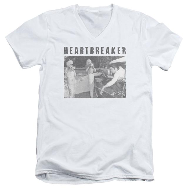 Elvis Presley T Shirt (Slim Fit) | HEARTBREAKER Slim-fit Tee