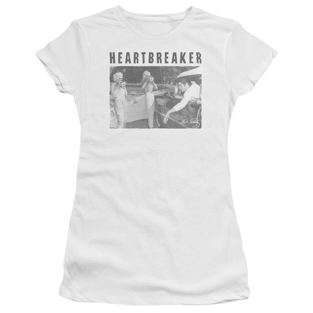 Elvis Presley Juniors Shirt | HEARTBREAKER Juniors T Shirt