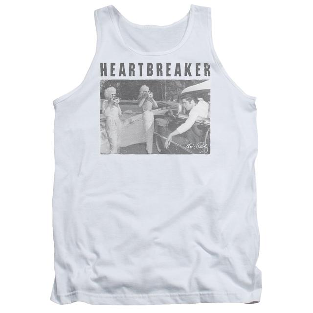 Elvis Presley Tank Top | HEARTBREAKER Sleeveless Shirt