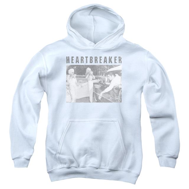 Elvis Presley Youth Hoodie | HEARTBREAKER Pull-Over Sweatshirt