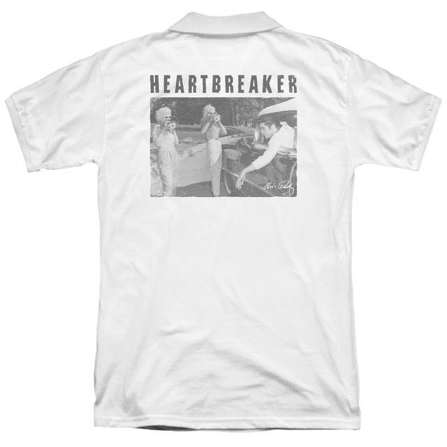 Elvis Presley HEARTBREAKER (BACK PRINT)