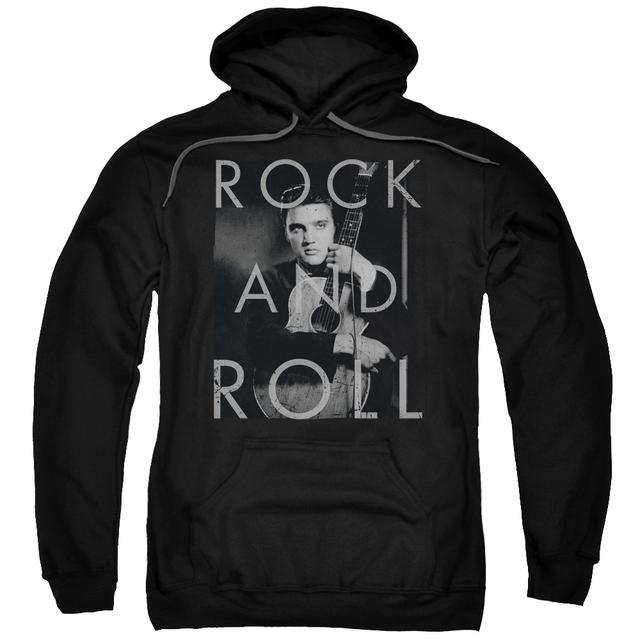 Elvis Presley Hoodie | ROCK AND ROLL Pull-Over Sweatshirt