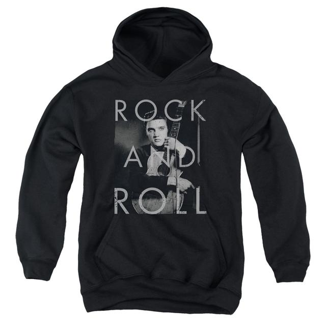 Elvis Presley Youth Hoodie | ROCK AND ROLL Pull-Over Sweatshirt
