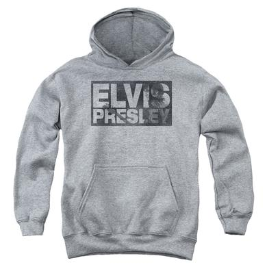 Elvis Presley Youth Hoodie | BLOCK LETTERS Pull-Over Sweatshirt