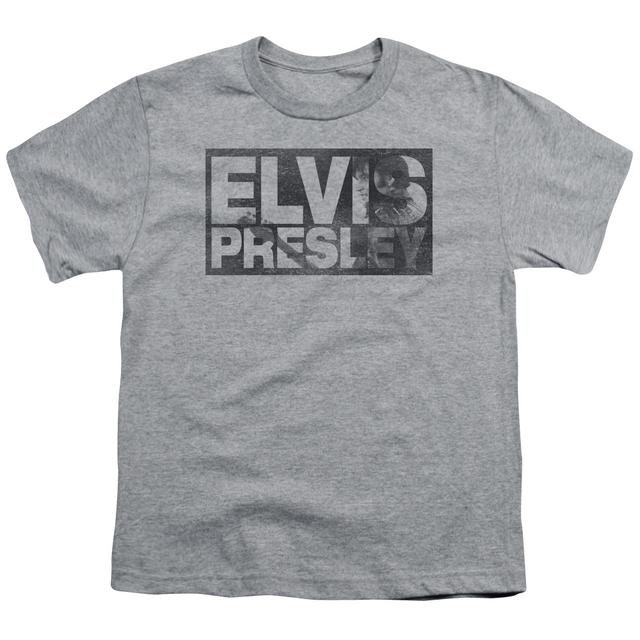 Elvis Presley Youth Tee | BLOCK LETTERS Youth T Shirt