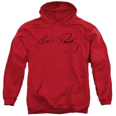 Elvis Presley Hoodie | SIGNATURE SKETCH Pull-Over Sweatshirt